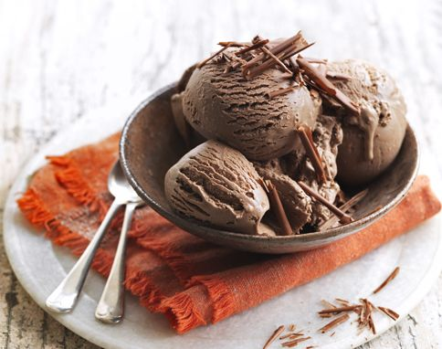 Jamie Oliver Chocolate Ice Cream: Absolutely decadent!!!!!!  Best recipe for ice cream that I've found.