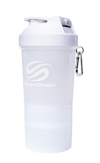 Smart Shake 600ML Pure White Shaker