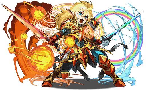 10/02 寵物圖檔更新 (覺醒弗雷) - Puzzle & Dragons 戰友系統及資訊網 | Puzzles and dragons, Final fantasy art, Fantastic art