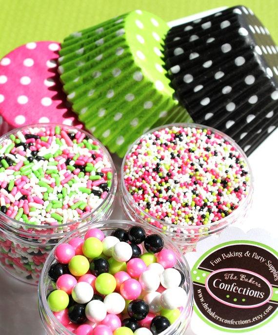Watermelon cupcake decorating kit - thebakersconfections.etsy.com: Colors Combos, Cupcakes Pics Inspiration, Cupcakes Crazy, Color Combos, Colors Mixed, Cupcakes Cupcakes Decor, Cupcakes Cookies Cak, Cupcakes Cak, Cupcakes Decorating
