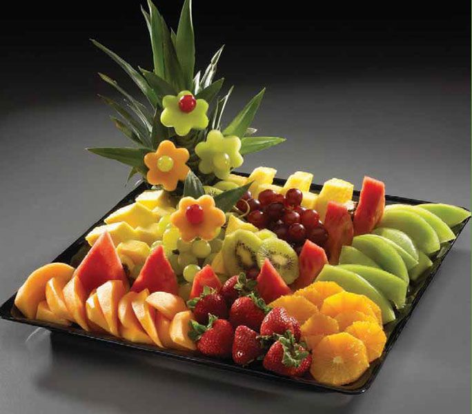 party fruit platter | Van's Evergreen IGA :: Party Trays
