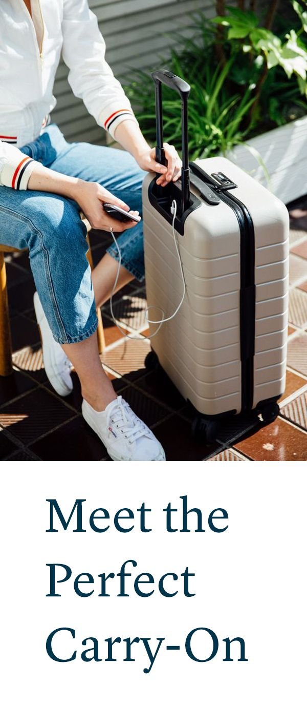 """""""The perfect carry-on bag has arrived – and it's under $250"""" - Vogue"""