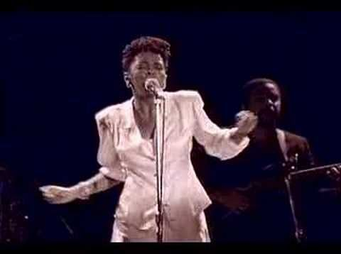 """""""Sweet Love"""" ~ Anita Baker (This woman made me appreciate and be completely awed by innate, effortless talent, by people who sing amazingly with seemingly as much effort as it takes to breathe...)"""