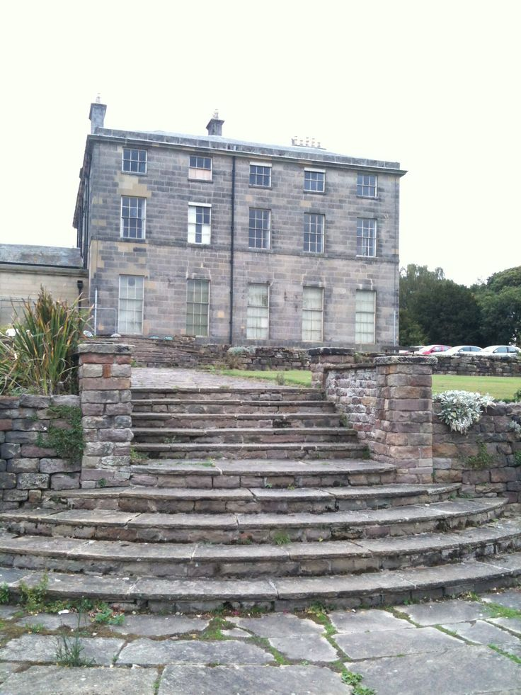 Allestree Hall Derbyshire:Owned by Derby City Council and is open to the public as a country park + golf course.