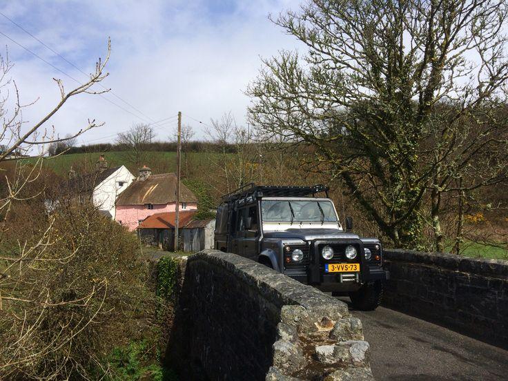 Defender 130 on Dartmoor Great Britain #defender 130 #ponsworthy