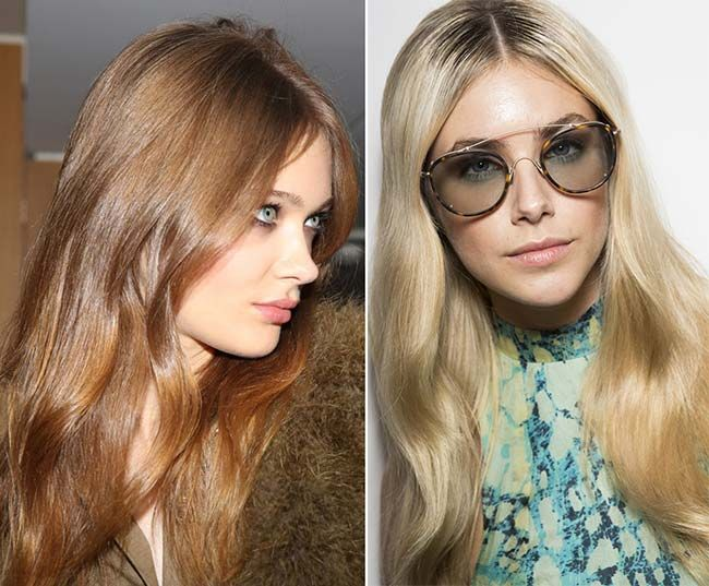 Spring/ Summer 2015 Wavy Hairstyles Taken from The Runway  #wavyhair #hairstyles