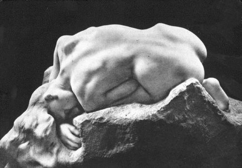 오귀스트 로댕의 작품 'La Danaïde'    원래 지옥의 문 구성물로 단테의 신곡에 나온 이야기를 기반으로 한 이 작품은 후에 지옥의 문 구성이 바뀜에 따라 독립적인 작품이 되었다고 한다. 오귀스트 로댕을 처음 접한 것은 유럽여행에서 루브르 박물관을 갔다가 실제로 접한 경험에서이다.   아버지의 명에 따라 남편을 죽인 다나이드는 고통스러운 형벌을 받게 되는데, 이를 조각한 작품이다. 내가 느낀 점은 고통을 표현한 작품임에도 불구하고 아이러니하게도 등의 곡선에서 말로 형용할 수 없는 아름다움이 느껴진다는 것이다. 딱딱한 돌에서 인체의 부드러운 아름다움이 이렇게 잘 드러나다니 하며 놀라웠다.