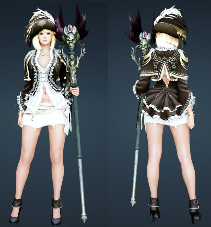 Black Desert Witch costumes