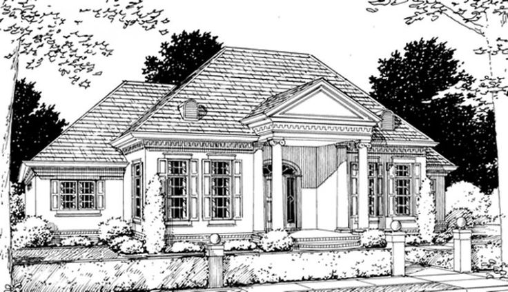 #655776 - Gorgeous Georgian 3 bedroom 2 bath plan : House ...