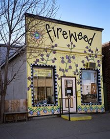 Local artists own fireweed in Thunder Bay, Ontario
