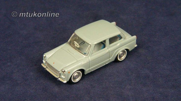 TOMICA LV44b TOYOTA PUBLICA DELUXE 1963 | 1/64 | GREY | TOMYTEC 2007