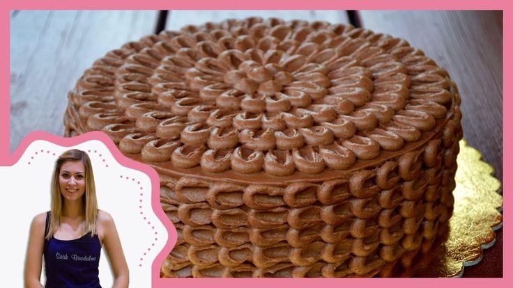Csokitorta díszítés recepttel - Sütik Birodalma