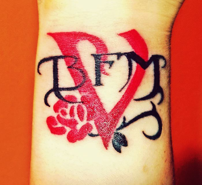 43 best trivium tattoo images on pinterest banana for Valentines tattoo seattle