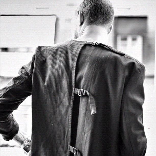 Yohji Yamamoto stray jacket