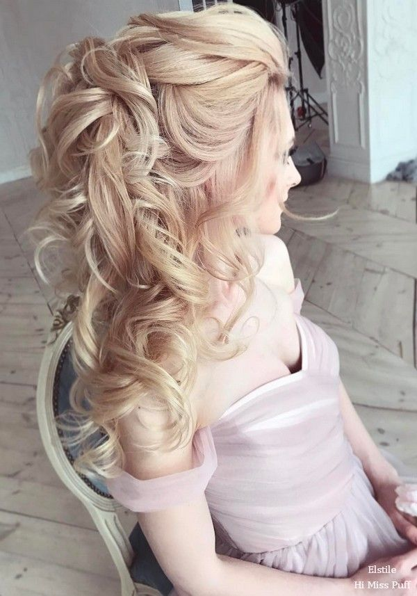 100 Wow-Worthy Long Wedding Hairstyles from Elstile   Hi Miss Puff - Part 23