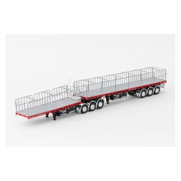 Maxitrans Freighter B-Double Flat Top Trailer Set - NHH - ZT09132 Suits ALL Drake Kenworth Prime Movers, Including the K200's C509's & T909's..