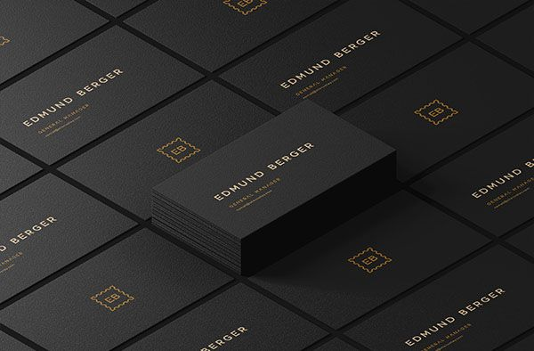 Download Free Dark Isometric Business Cards Mockup Business Card Mock Up Business Cards Mockup Psd Free Business Card Mockup