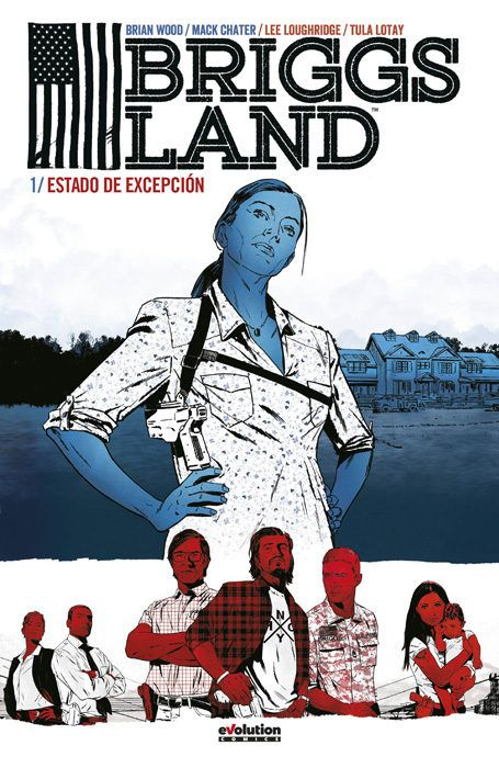 Benvido a Briggs Land, máis de 1.500 quilómetros perdidos na América profunda, fogar do maior movemento secesionista de Estados Unidos. O líder foi encarcerado, pero cando a súa esposa, a matriarca Grace Briggs, tome o control, estalará unha guerra dentro da comunidade.