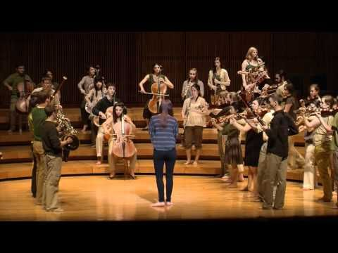 Movement and Music: UMSO performs Prelude to the Afternoon of a Faun with movement design by Liz Lerman