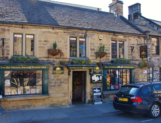 Bakewell Pudding shop in Bakewell Derbyshire, England....it's been years since i've had one...maybe I'll get to go back one day.