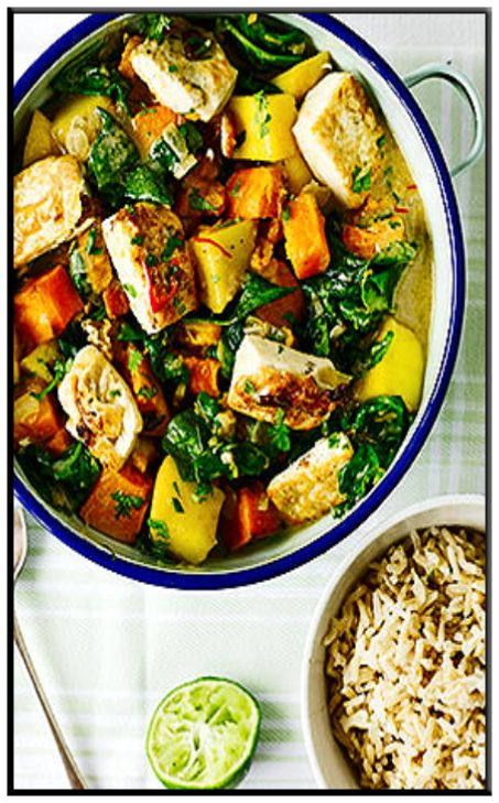 Tofu, pumpkin & pineapple curry http://www.ibssanoplus.com/low_fodmap ...