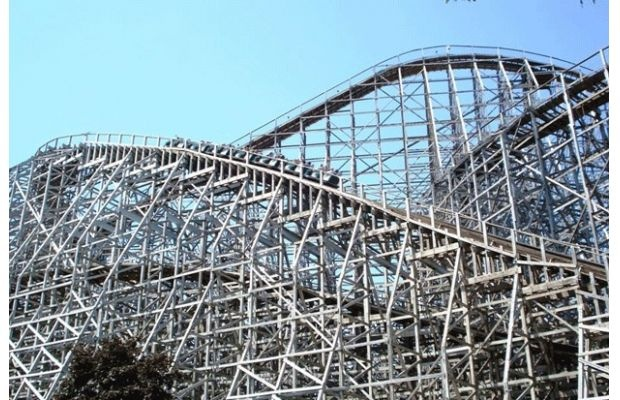 Mean Streak, Cedar Point, Ohio
