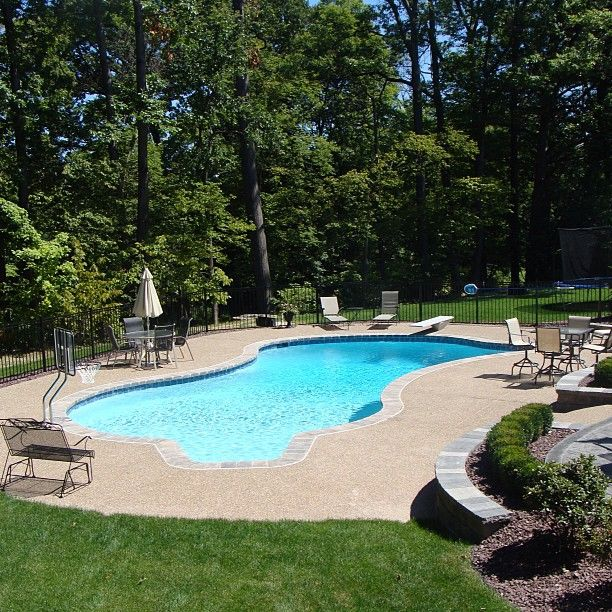 Swimming Pool Design Reference: 25+ Best Ideas About Gunite Pool On Pinterest