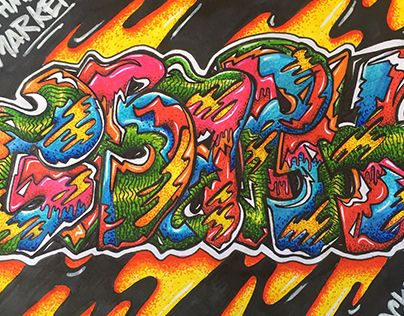 "Check out new work on my @Behance portfolio: ""Graffiti Sketch Process"" http://be.net/gallery/49138015/Graffiti-Sketch-Process"