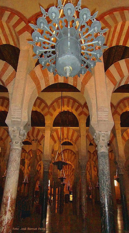 Kathedraal in de Moskee, Mezquita de Córdoba, Spanje