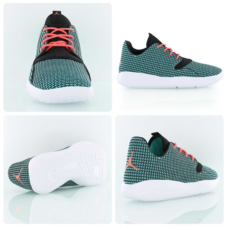 Exclusively for all the Jordan Girls out there: the Jordan Eclipse  turquoise/red in