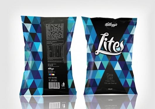 Designspiration — Kellogg's LiteChips - TheDieline.com - Package Design Blog - via http://bit.ly/epinner