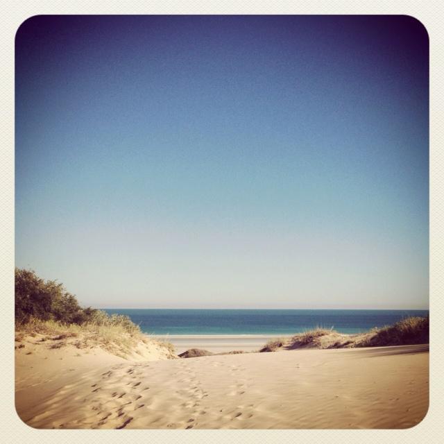 Cable beach sand dune, Broome WA
