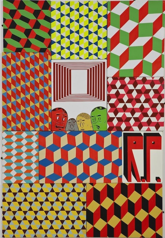 PRISM | Barry McGee, Cluster #17, 2009