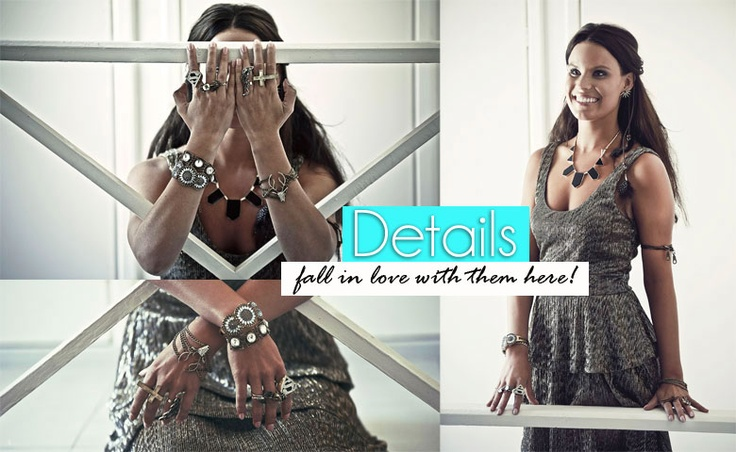Fall in love with fashionable details!