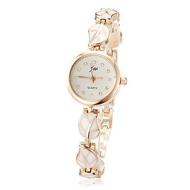 φύλλο ρολόι βραχιόλι κράμα μοτίβο των γυναικών – EUR € 6.07