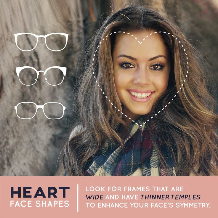 Eyeglass Frames Heart Shaped Face : 149 best images about Choosing Perfect Eyeglasses on ...