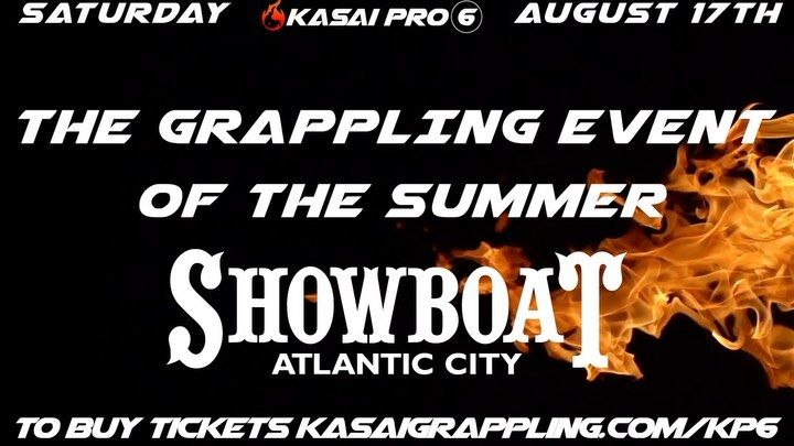 Its Kasai Week Grab Your Tickets For The Live Show This Saturday August 17th At The Showboat In Atlantic City For More Informati Atlantic City Kasai Atlantic