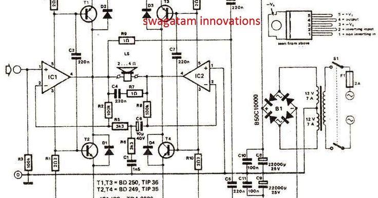 31 best amp guitar tda2030/4558 diagram images on