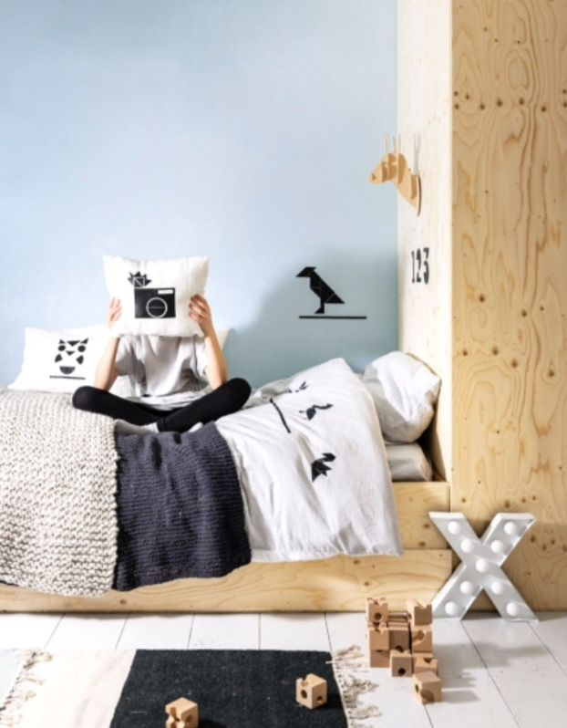 """This lovely bedroom is from our  DIY feature """"Let's Party"""""""