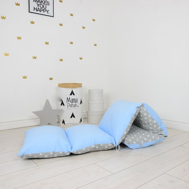 pillow bed baby nap mat sleeping bed sleepover toddler nap mat cotton mat…