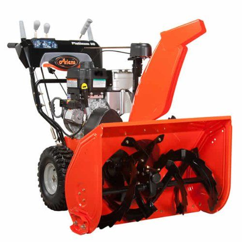 Ariens Platinum 921029 30-Inch 369Cc Two-Stage Snow Thrower With Electric Start, 2015 Amazon Top Rated Snow Blowers #Lawn&Patio