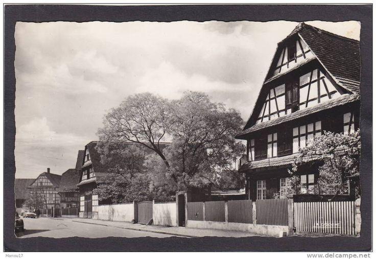 HOERDT (près Geudertheim Bietlenheim Weyersheim Gries Kilstett la Wantzenau Reichstett Vendenheim) - maisons alsaciennes