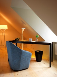 attic room. hotel skeppsholmen.