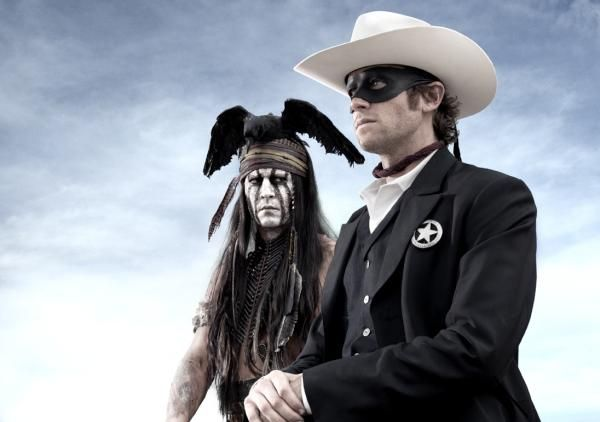 Lone Ranger - Depp as Tonto, Armie Hammer as the Ranger...can not wait...knock it out of the park Verbinski!