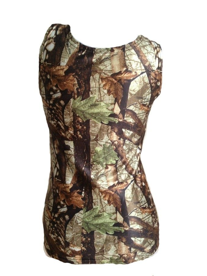 """Southern Sisters Designs - Fitted """"Huntress"""" Camo Tank Top For Women, $16.95 (http://www.southernsistersdesigns.com/fitted-huntress-camo-tank-top-for-women/)"""
