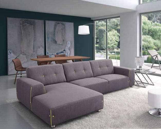 The stylish Linkoping Sectional RHF blends naturally with your living room décor because of its neutral color. Get it to add fun to your living space.  https://www.barcelona-designs.com/products/linkoping-sectional-rhf?utm_content=buffer9ffb7&utm_medium=social&utm_source=pinterest.com&utm_campaign=buffer #fun #decoration #livingroom #decor #barcelonadesigns #LinkopingSectionalRHF #sectionalsofa