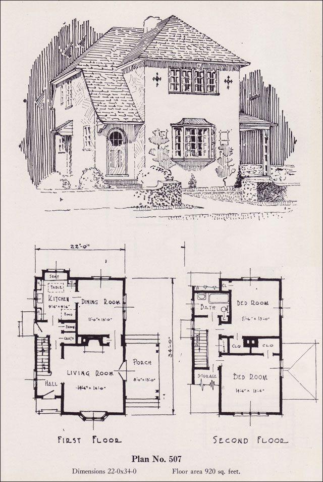 99 best House Plans images on Pinterest Architecture Vintage