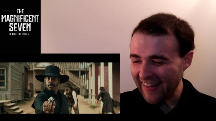 The Magnificent Seven Trailer #1 REACTION & REVIEW (Denzel Washington + ...