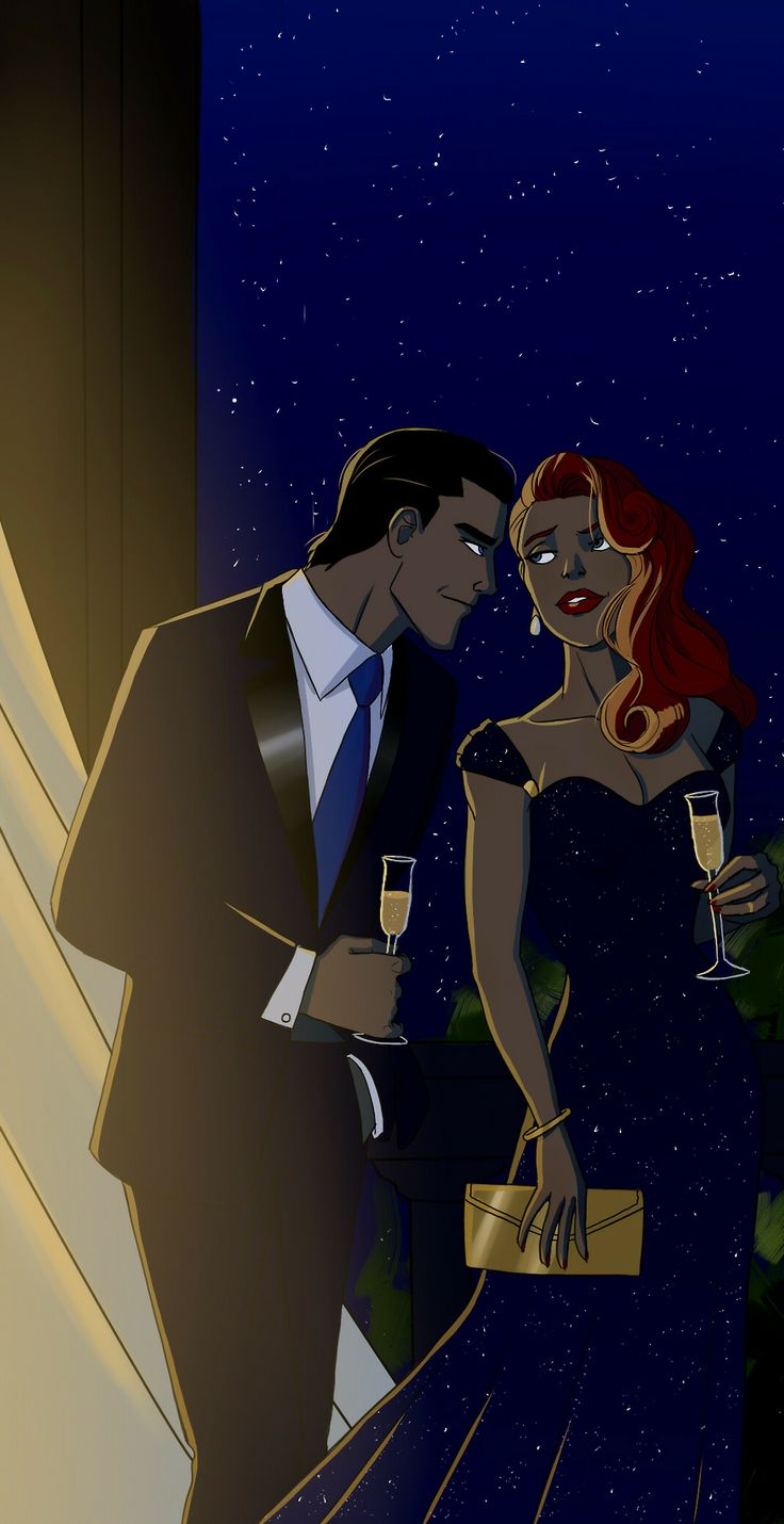 Dick Grayson and Barbara Gordon: MY OTP
