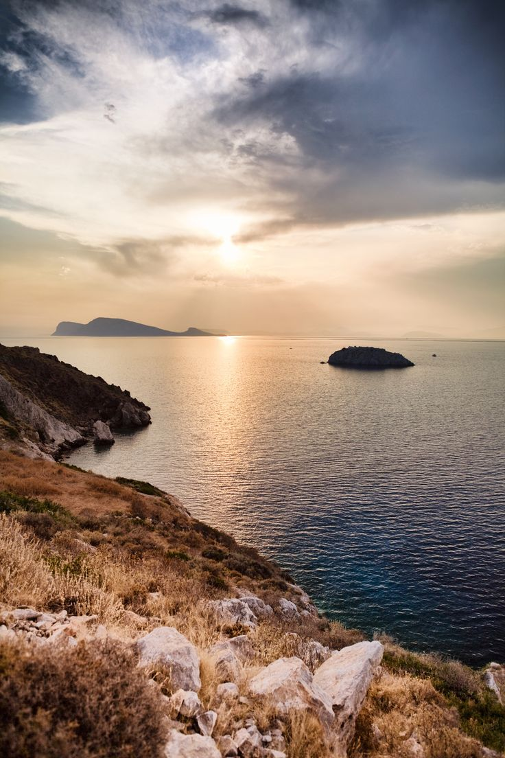 Awe inspiring #sunset in #Hydra Island, #Greece. http://www.cycladia.com/travel-guides-greece/hydra-guide-tips/